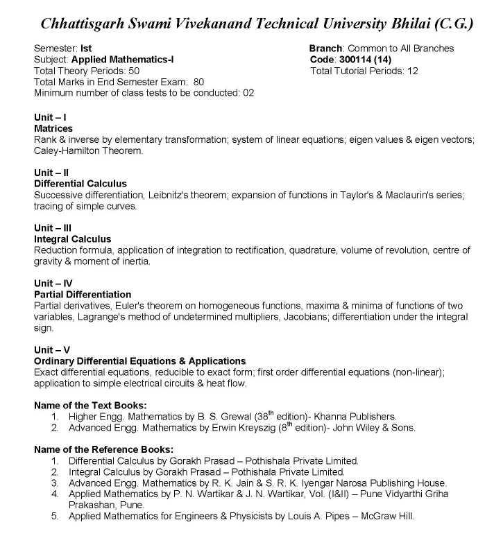 CSVTU 1st Year Notes - 2018-2019 StudyChaCha