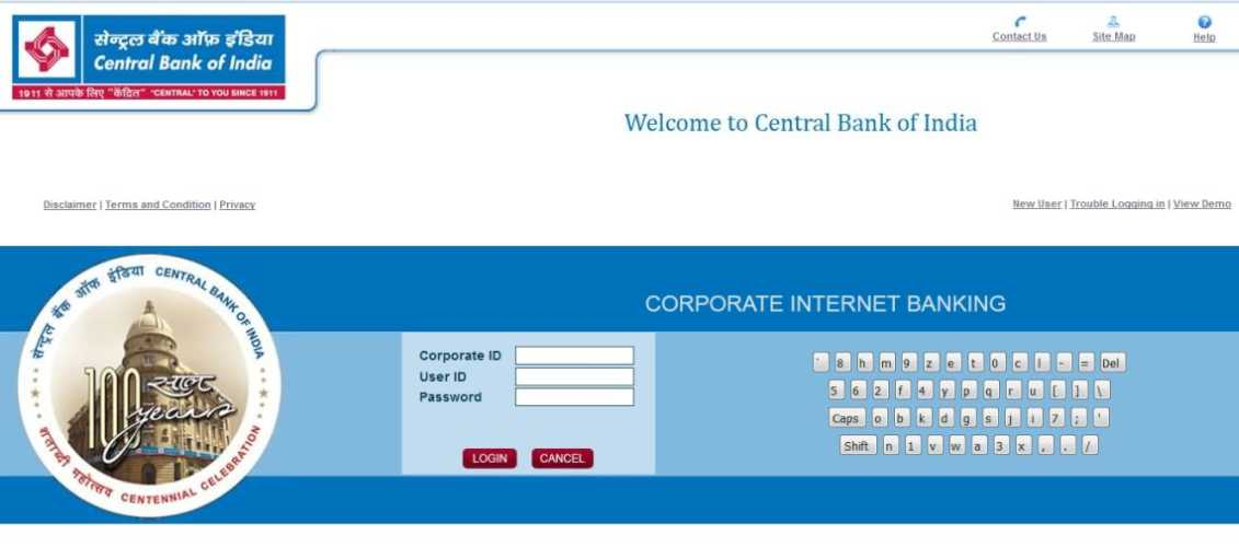 How to change transaction password in central bank of india net ...