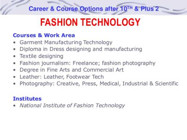 Fashion designing course after passing 10th class 2018 Fashion designing course subjects