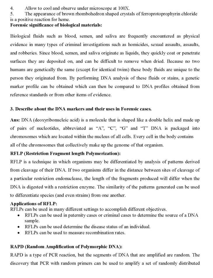 forensic science review question Rm white forensic sci rev 29 (1), 23-55 1 2017 currently, hair can be reliably tested for the presence of drugs however, one major drawback to the use of parent drugs is the question of potential external or environmental contamination the analysis of metabolites to confirm the use of the .