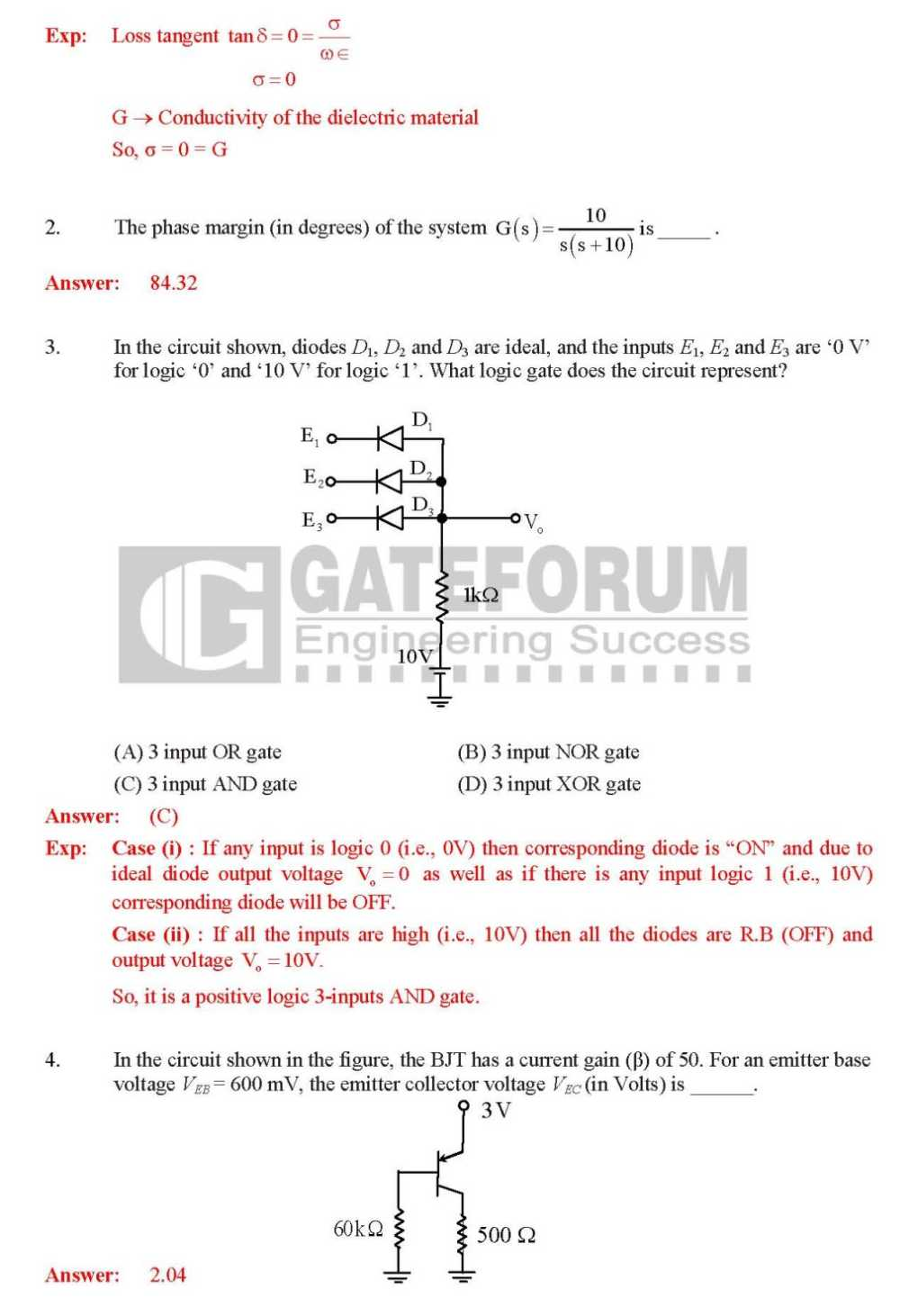 gate 2016 question paper for ece with solutions pdf