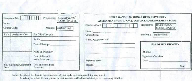 assignment paper of ignou The university provides assignment question papers for all the courses for the particular session  result ignou term end exam result 2013 indira gandhi national .
