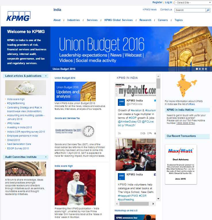 kpmg careers login