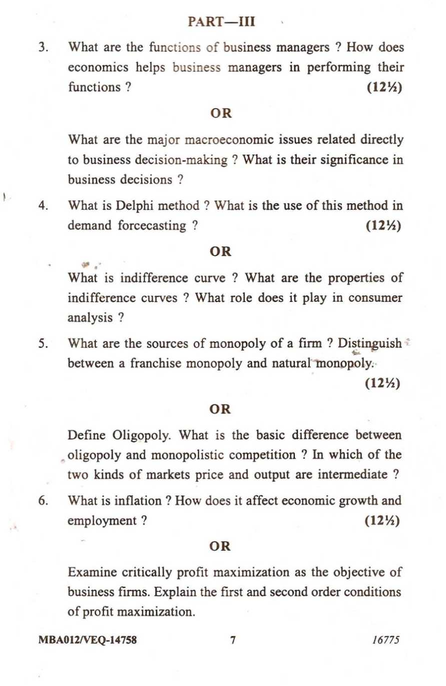 managerial economics paper This is common in managerial economics where boring,  is managerial economic is minor or macro what is the difference between economics and managerial economics.