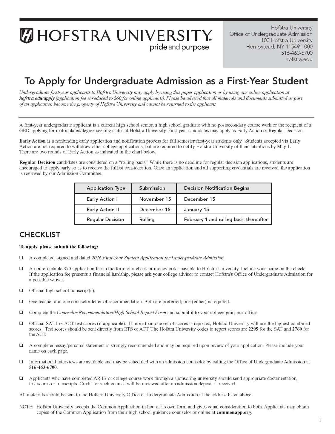 hofstra admissions essay This is transfer and admissions information for hofstra university students can compare college and university transfer information before changing colleges.
