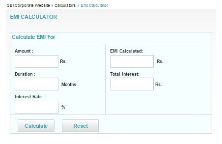 What is the emi for sbi staff on a housing loan of 300000 for 30.