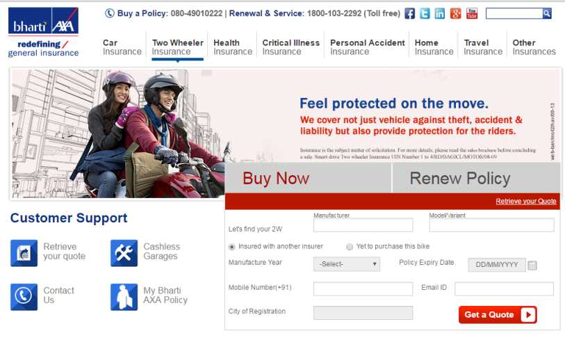 Car Insurance Compare Quotes Renew Car Insurance Online