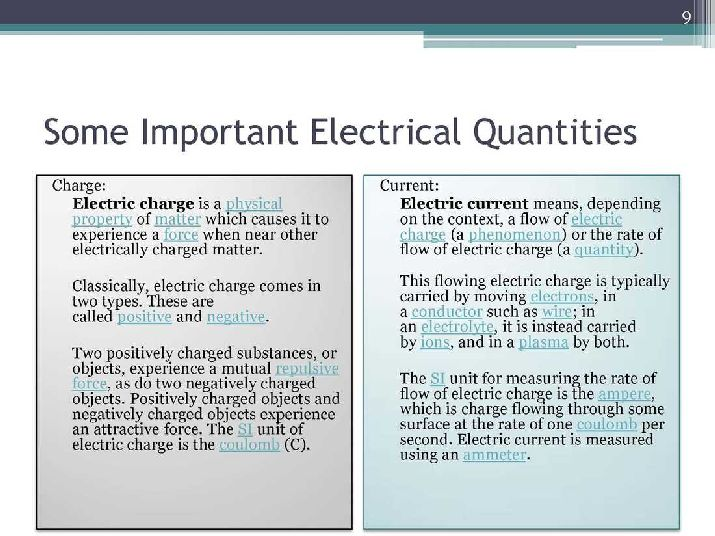 Eso 210 Iitk 2018 2019 Studychacha Electric Current Is The Rate At Which Charge Flows Through A Surface Here I Am Attaching Pdf For Complete Notes Of