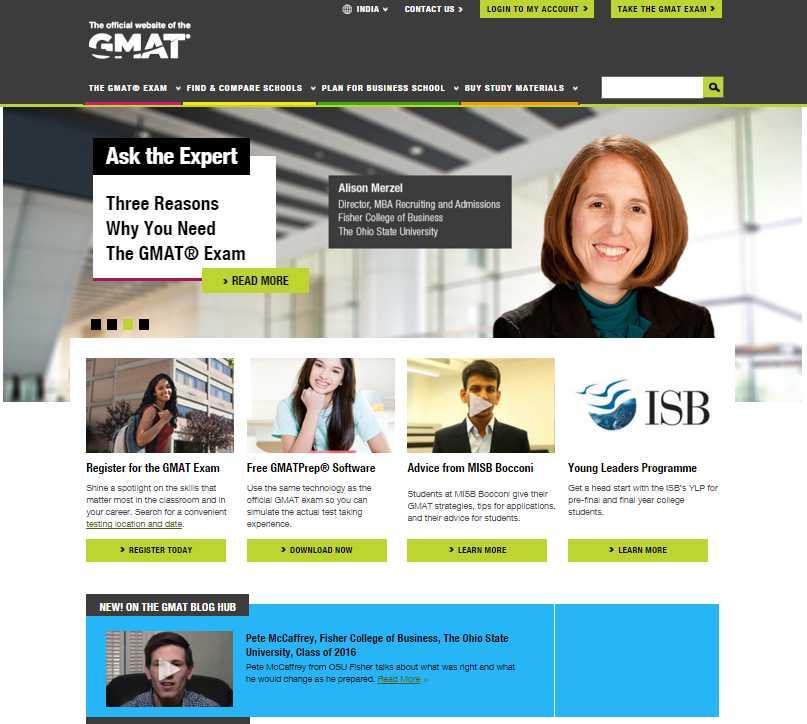 Gmat exam dates in Perth