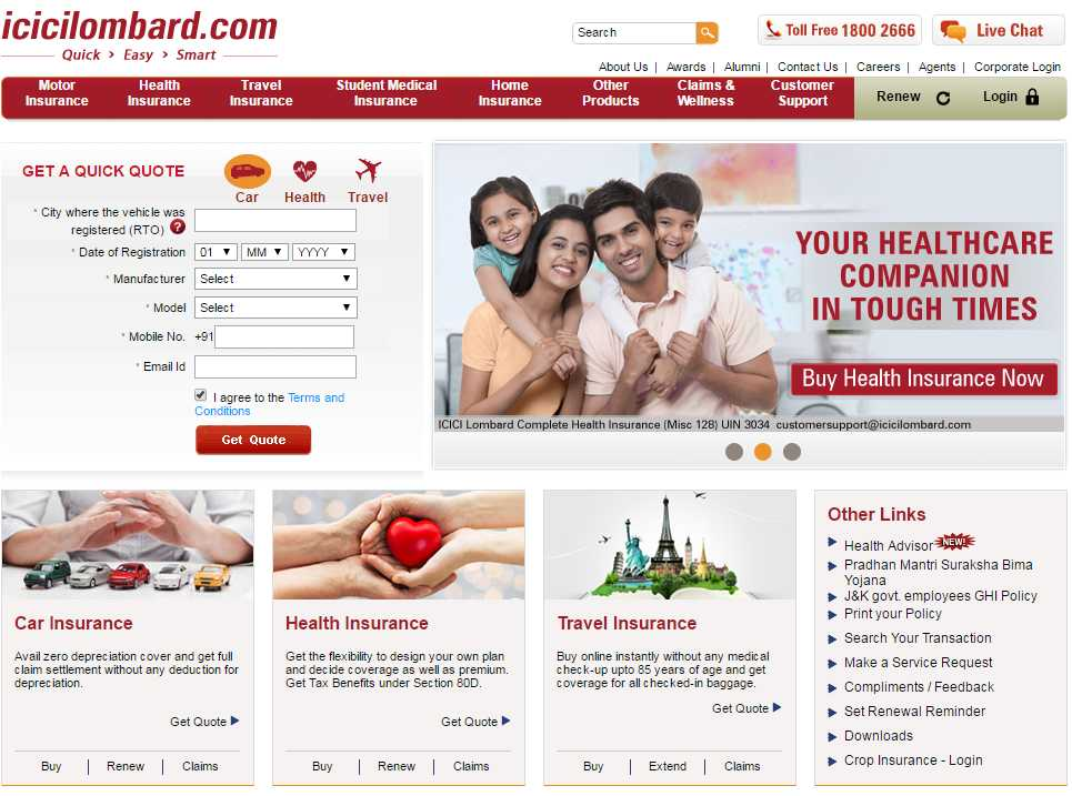 Icici Lombard Overseas Travel Insurance Review