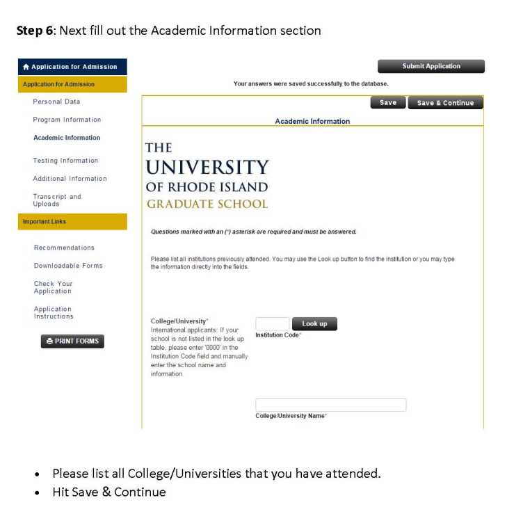 Is University Of Rhode Island Rolling Admission