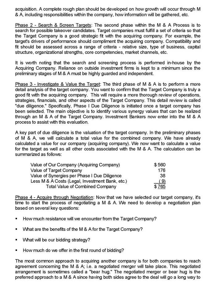 what is merger and acquisition pdf