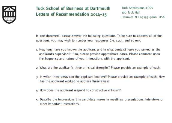 dartmouth tuck mba essay questions Dartmouth tuck mba admissions details, applications essays, admission deadlines, class profile prepare a strong application for dartmouth tuck.