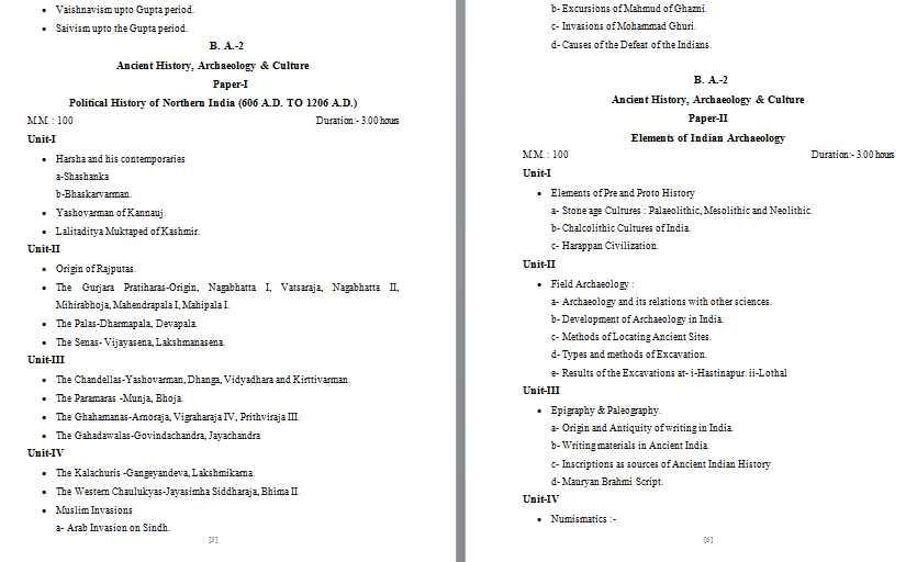 Archaeology ameb syllabus free download