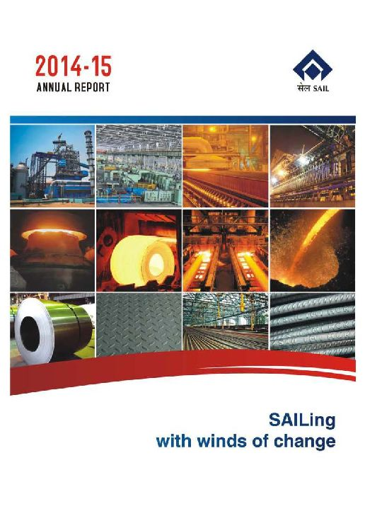 Steel authority of india limited annual report 2015