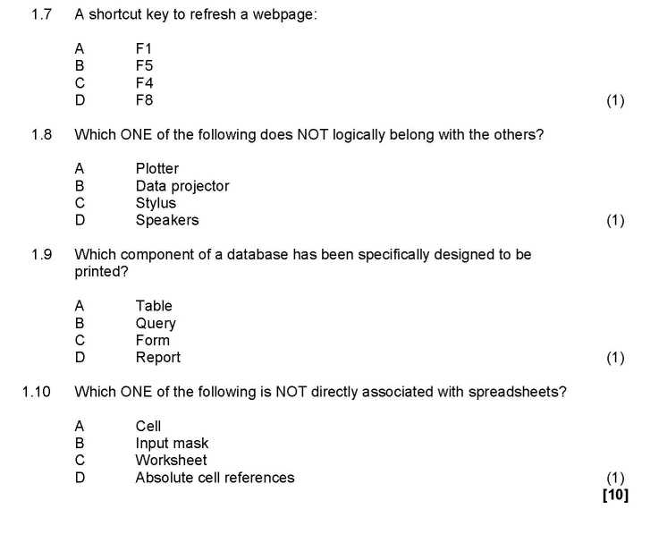 physics term test papers