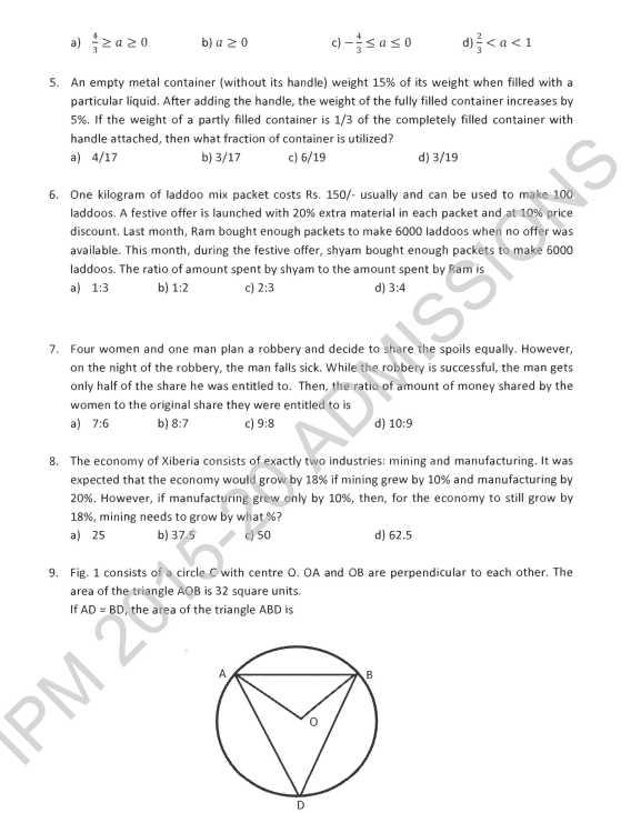 gre exam sample paper pdf