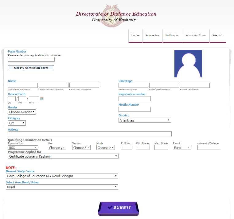 Kashmir-University-B-Ed-Application-Form Online Form For Degree Kashmir University on letter head dean research, female activist delhi, hazratbal srinagar sir syed gate, previous year question paper for mechanical 3rd sem, sample entrance paper for msc it, examination attendance sheet, kotli azad jammu, hazratbal srinagar rumi gate,