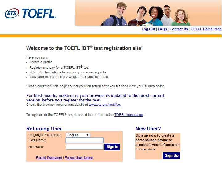 What is a good TOEFL score?