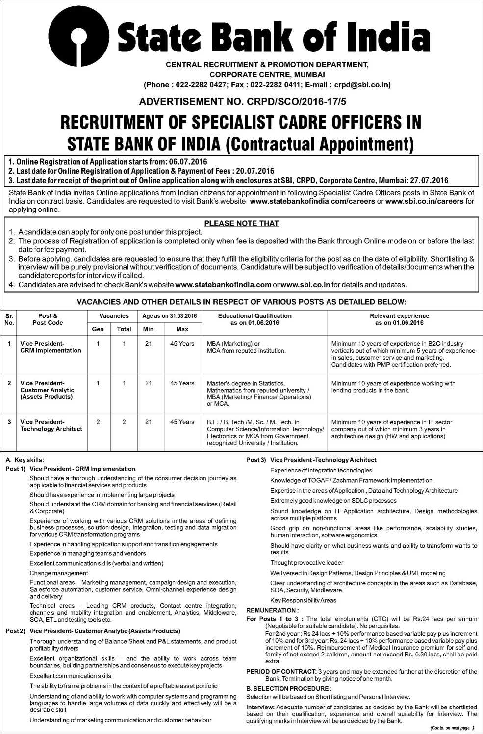 State-Bank-Of-India-Com-Recruitment-1 Job Application Form Of State Bank India on