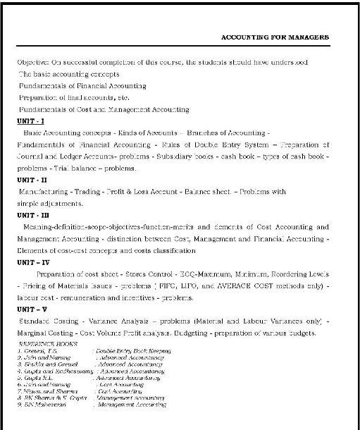 Bharathiar University Distance Education Courses 2019