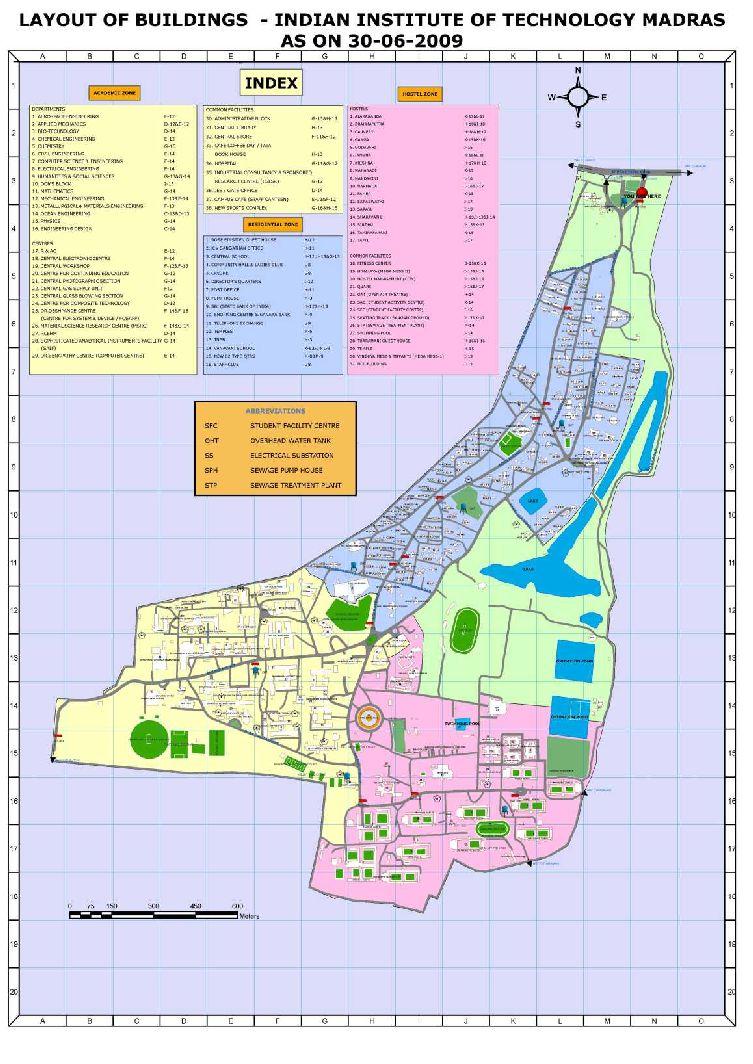 Chennai IIT Campus Map 2017 2018 StudyChaCha