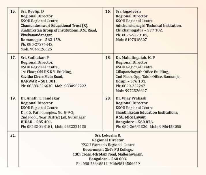 KSOU Study Center in Bangalore - Grotal.com