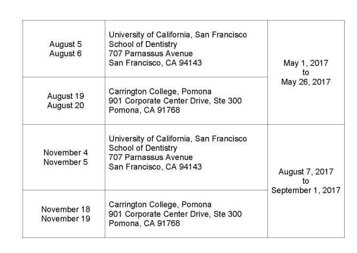 showing 3rd image of California Rda Test Dates LIS 605 Review of first session of Spring 2012 donna Bair ...