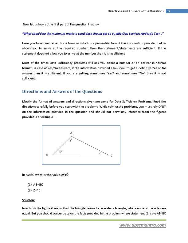 problem solving questions and answers for icet