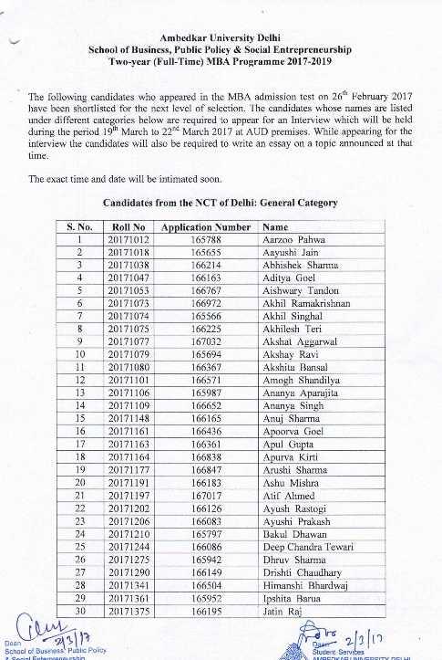 fees timing for ambedhkar university