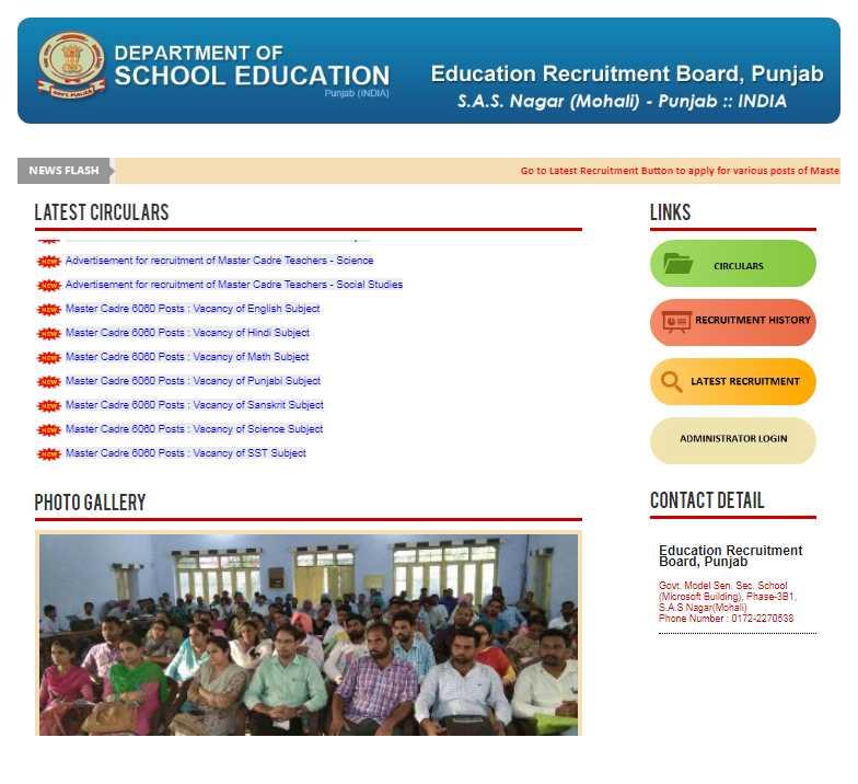 Posts in Punjab School Education Board - 2018-2019 StudyChaCha