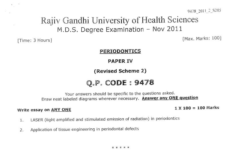 rajiv gandhi university thesis topics in dermatology