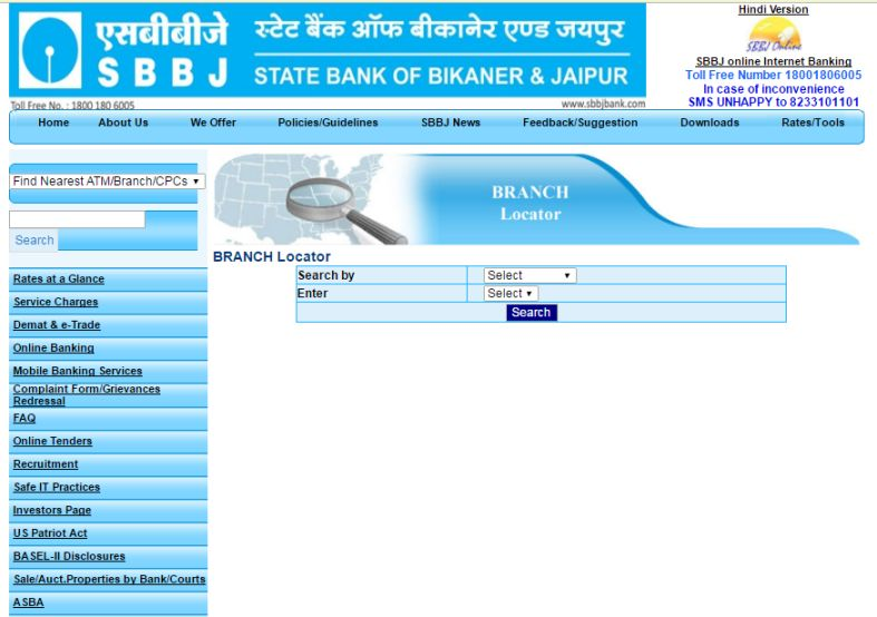 State bank of bikaner and jaipur udaipur branch ifsc code - state ...