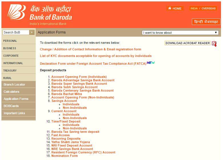 Signature Verification Form Bank Of Baroda