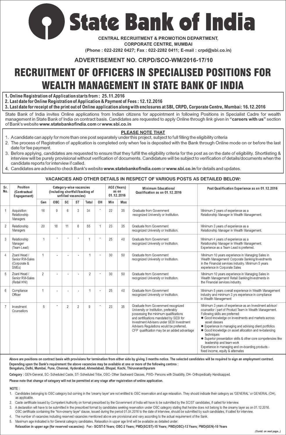 State%20bank%20of%20India%20Job%20Circular-1 Job Application Form Of State Bank India on