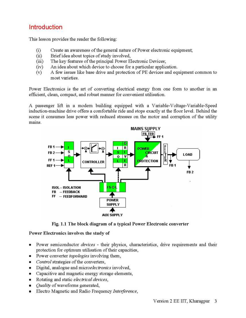 AMIE Power Electronics Notes - 2018-2019 StudyChaCha