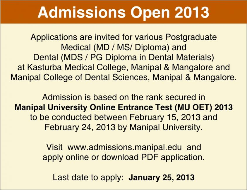 Click image for larger version  Name:Manipal medical PG entrance notice.jpg Views:32 Size:94.4 KB ID:8618