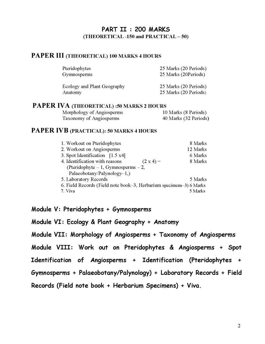 Bsc It Syllabus Pdf