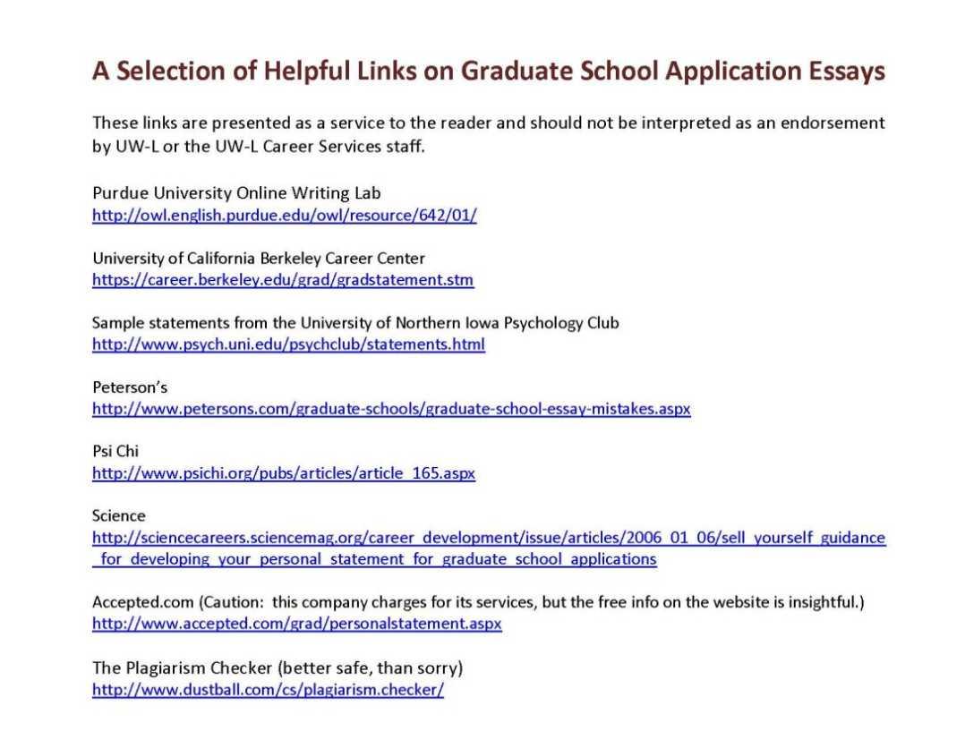 Madison admission essay