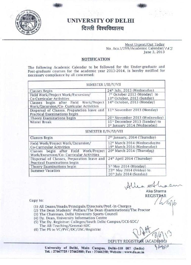 Cuny Academic Calendar Fall 2022.Delhi University Calendar 2021 2022 Studychacha