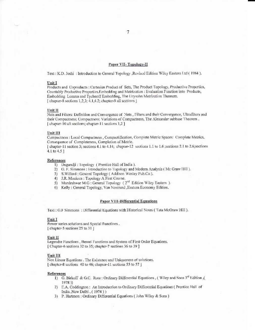 msc mathematics kannur university distance education 2018 2019 rh studychacha com
