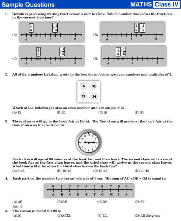 Number Names Worksheets free maths worksheets for class 4 : Free Maths Test Papers For Class 4 - maths test papers for class 4 ...