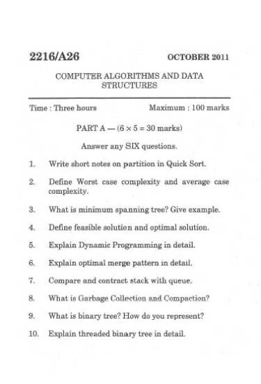 Data Structure And Algorithm In C Pdf