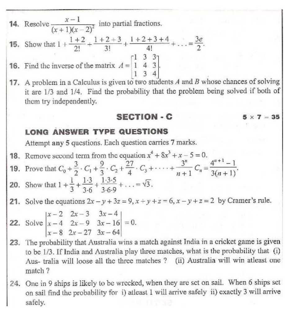Andhra Pradesh State Syllabus, Mathematics I B (Co-Ordinate Geometry