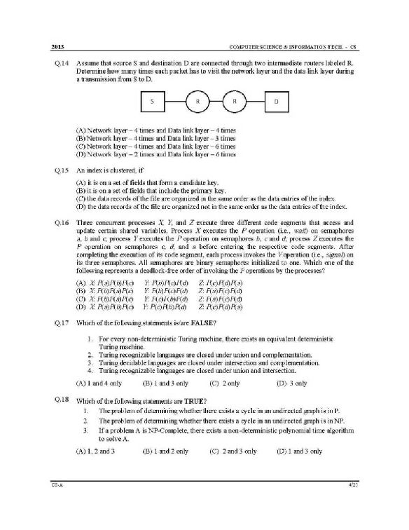 Computer science questions for competitive exams pdf viewer