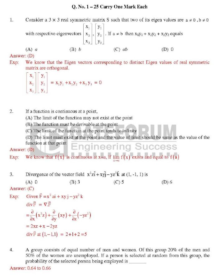 Gate 2012 Solved Paper Mechanical Engineering Pdf