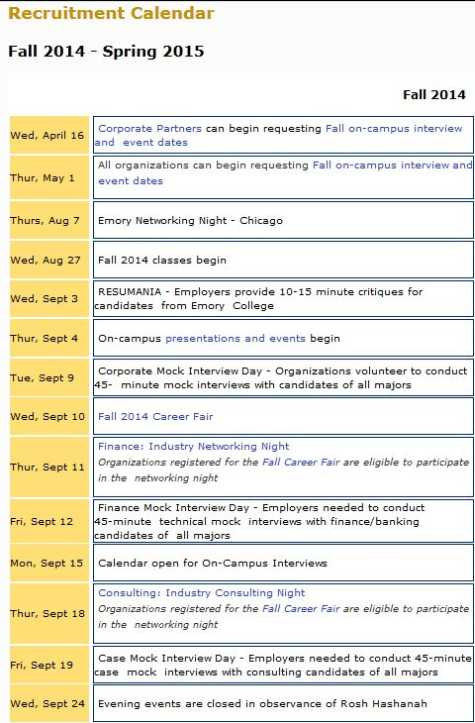 Emory Academic Calendar Fall 2022.Emory Career Center 2021 2022 Studychacha