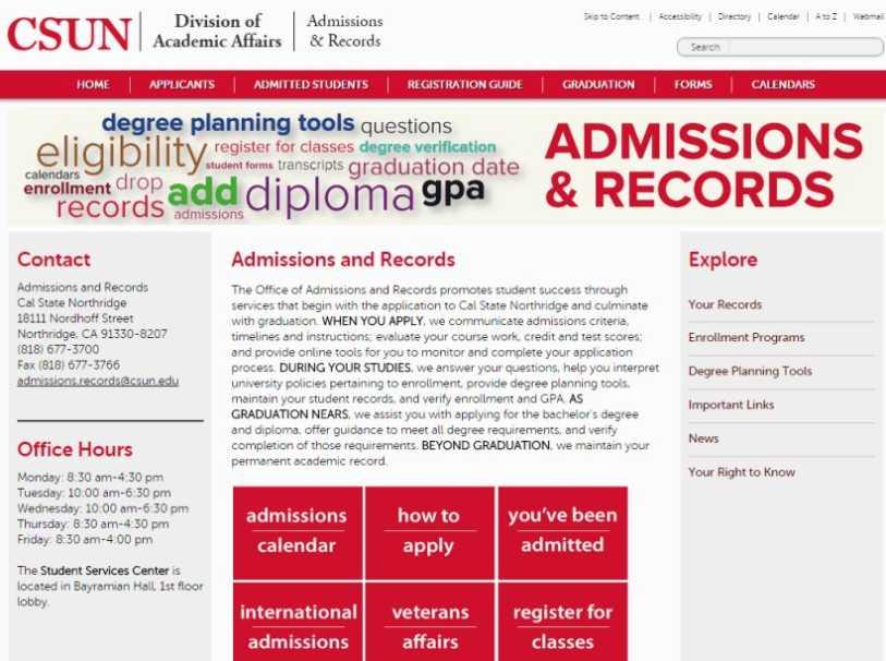 Csun 2022 Calendar.Admission And Records Csun Hours 2021 2022 Studychacha
