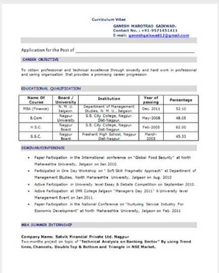 Mba Resume Of Finance Samples Mba Resume Of Finance Samples 2021 2022 Studychacha