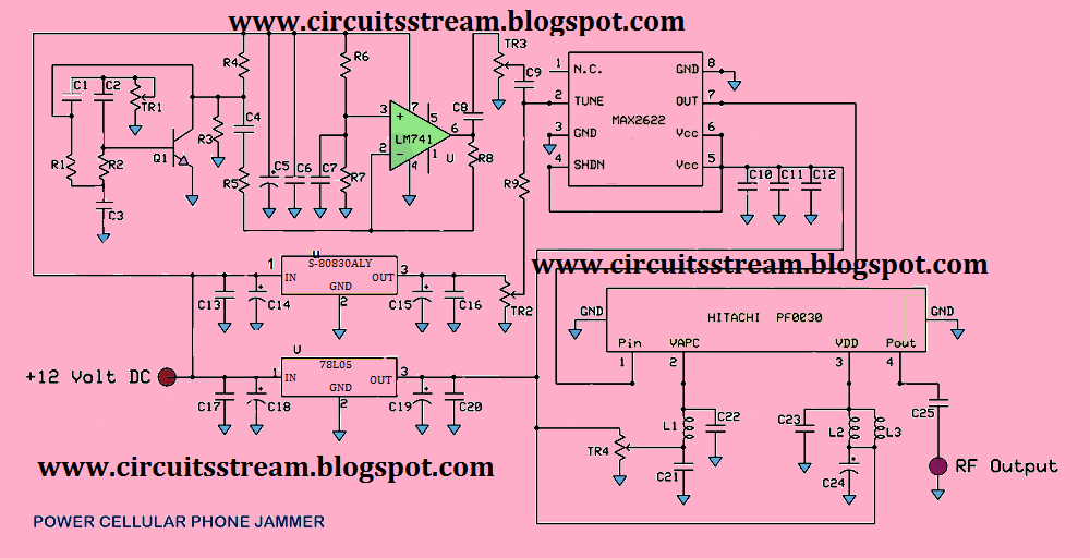Cell Phone Jammer >> Circuit Diagram of Mobile Jammer - 2020-2021 StudyChaCha